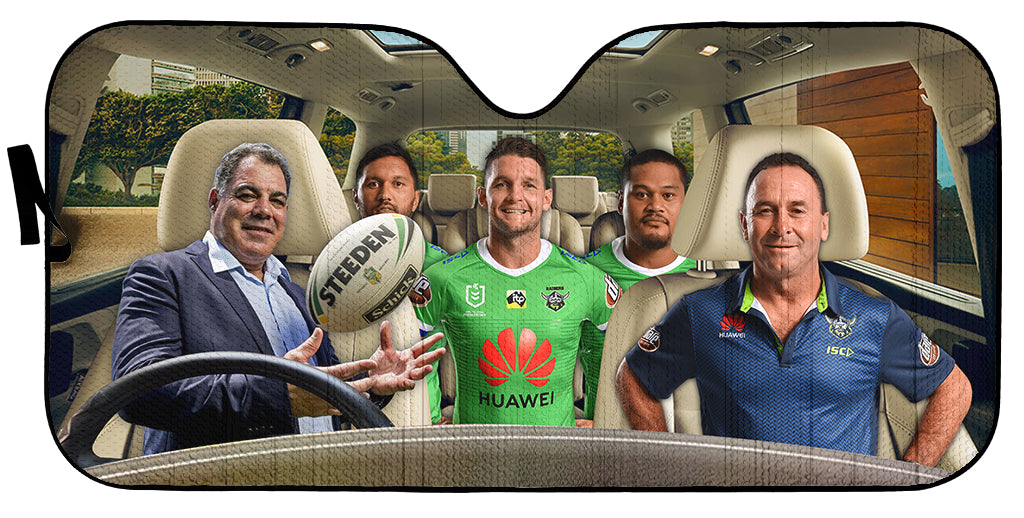 Canberra Raiders-ASNRL007 - LIMITED EDITION AUTO SUN SHADES