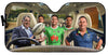 Image of Canberra Raiders-ASNRL007 - LIMITED EDITION AUTO SUN SHADES