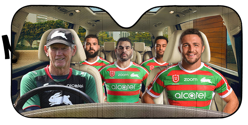 Rabbitohs-ASNRL003 - LIMITED EDITION AUTO SUN SHADES