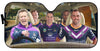 Image of Melbourne Storm-ASNRL001 - LIMITED EDITION AUTO SUN SHADES