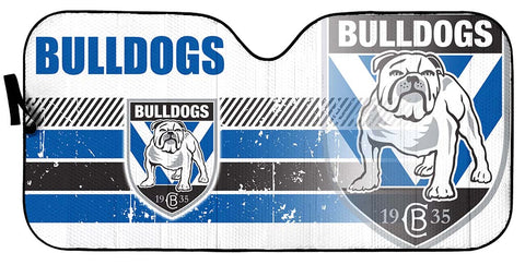 Bulldogs-AssNRL004 - LIMITED EDITION AUTO SUN SHADES