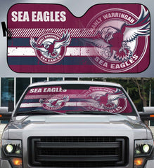 Sea Eagles-AssNRL003 - LIMITED EDITION AUTO SUN SHADES