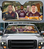 Image of Brisbane Broncos-ASNRL002 - LIMITED EDITION AUTO SUN SHADES