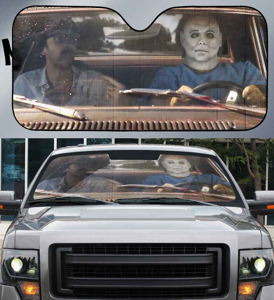 Michael Myers-AssMyers001 - LIMITED EDITION AUTO SUN SHADES