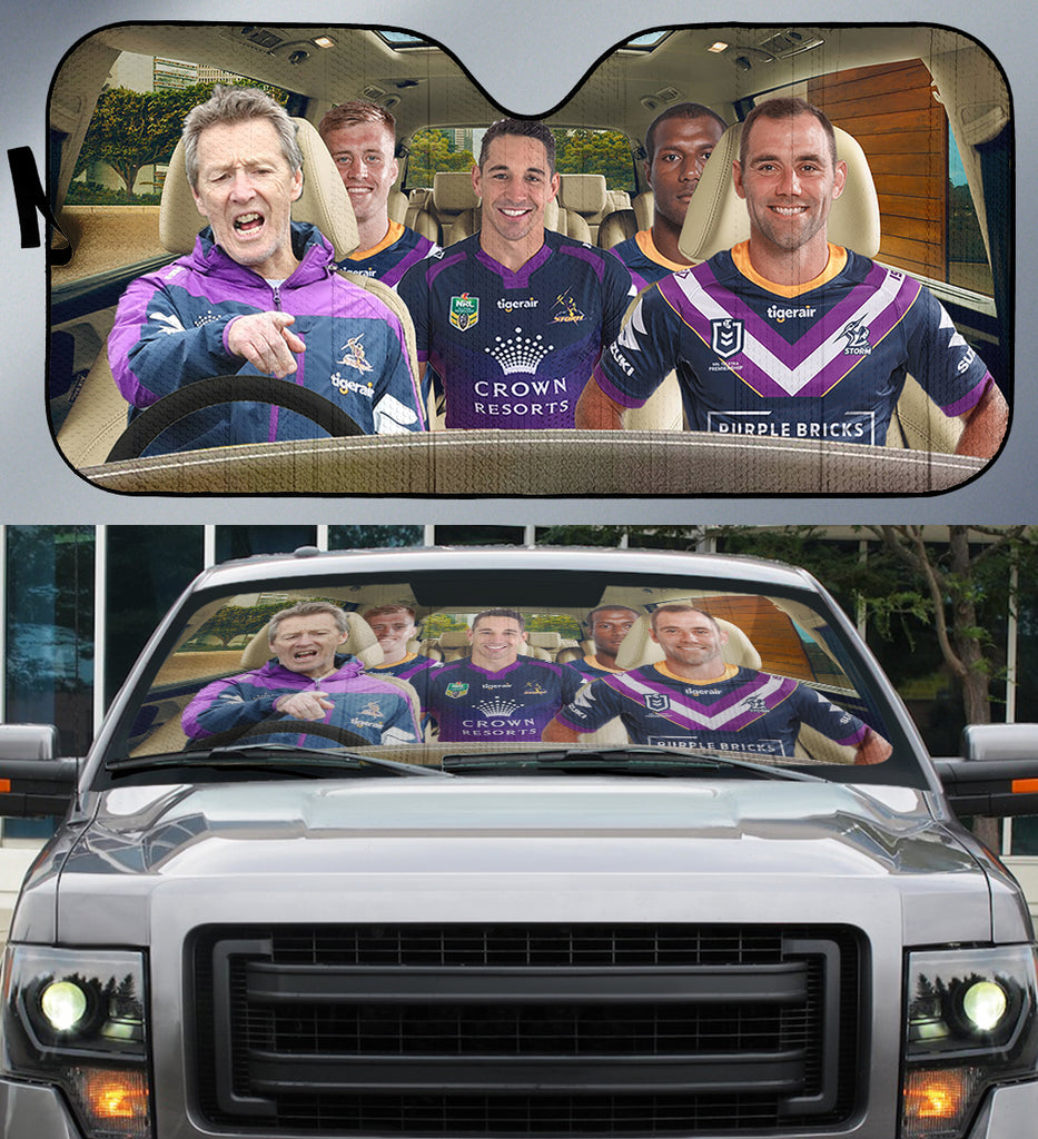 Melbourne Storm-ASNRL001 - LIMITED EDITION AUTO SUN SHADES
