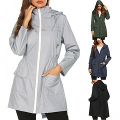 Fashion Ladies Long-sleeved Waterproof
