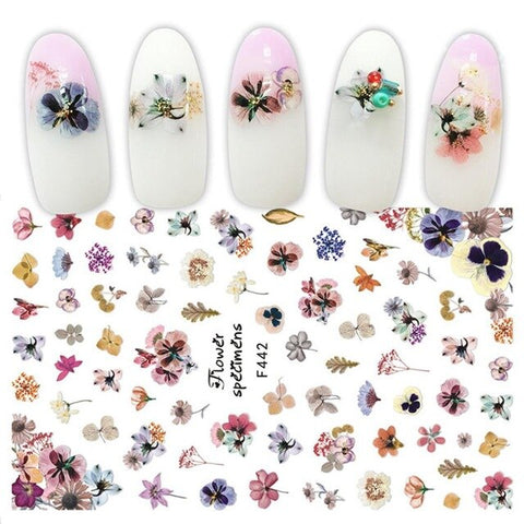 Women Nail Sticker DIY Decoration Nail Art