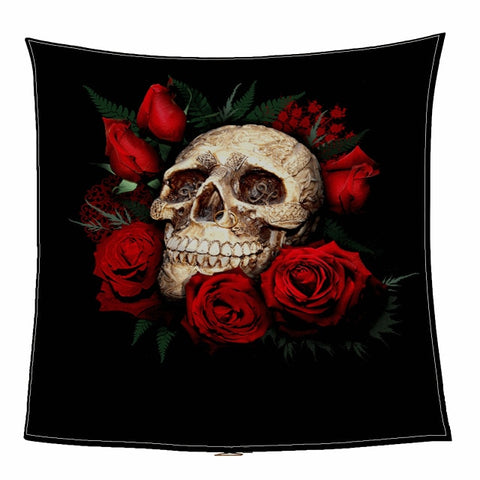 Soft Skull Bone Blanket