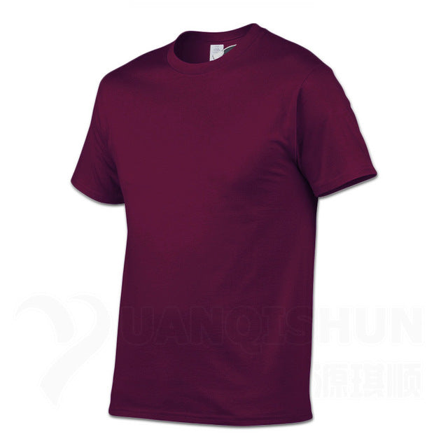 Fashion Brand Solid Color T-shirt