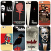 Image of The Godfather phone Case For iphone X XS XR 8 black silicone case for Samsung S7 S8 Case Cover