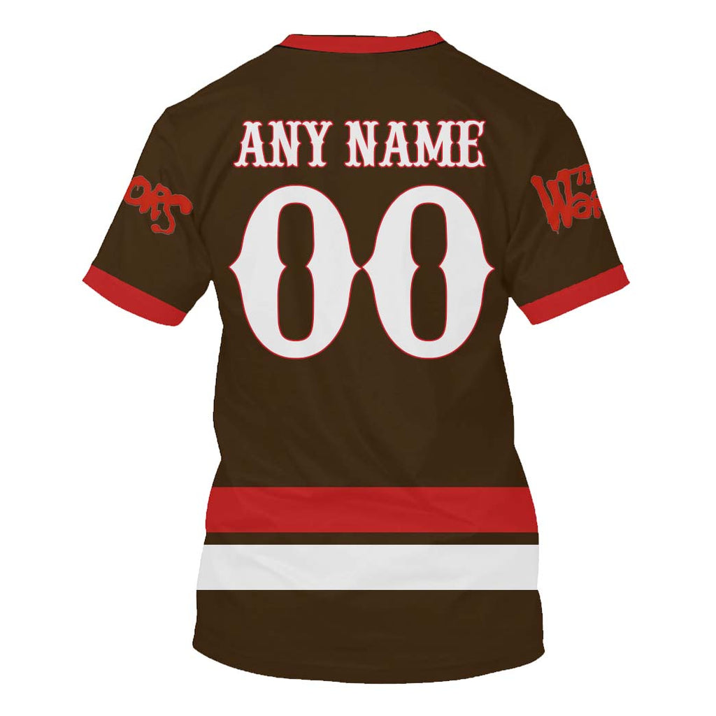 The Warriors Brown ver.2 - Customize your name & number