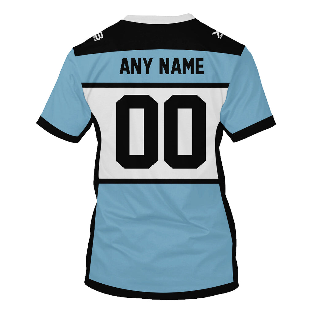 Cronulla-Sutherland Sharks - Customize Name & Number