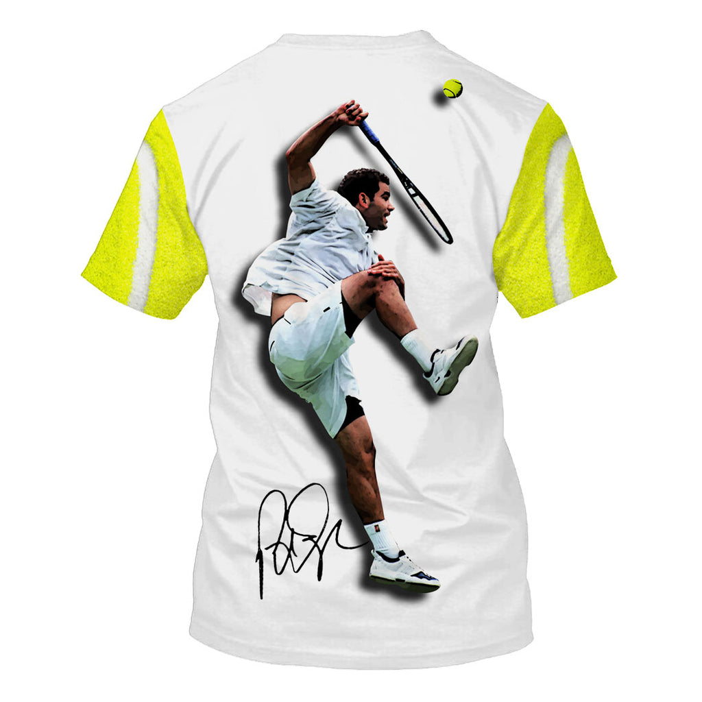 Pete Sampras-TennisPs002 - HOT SALE 3D PRINTED - NOT IN STORE