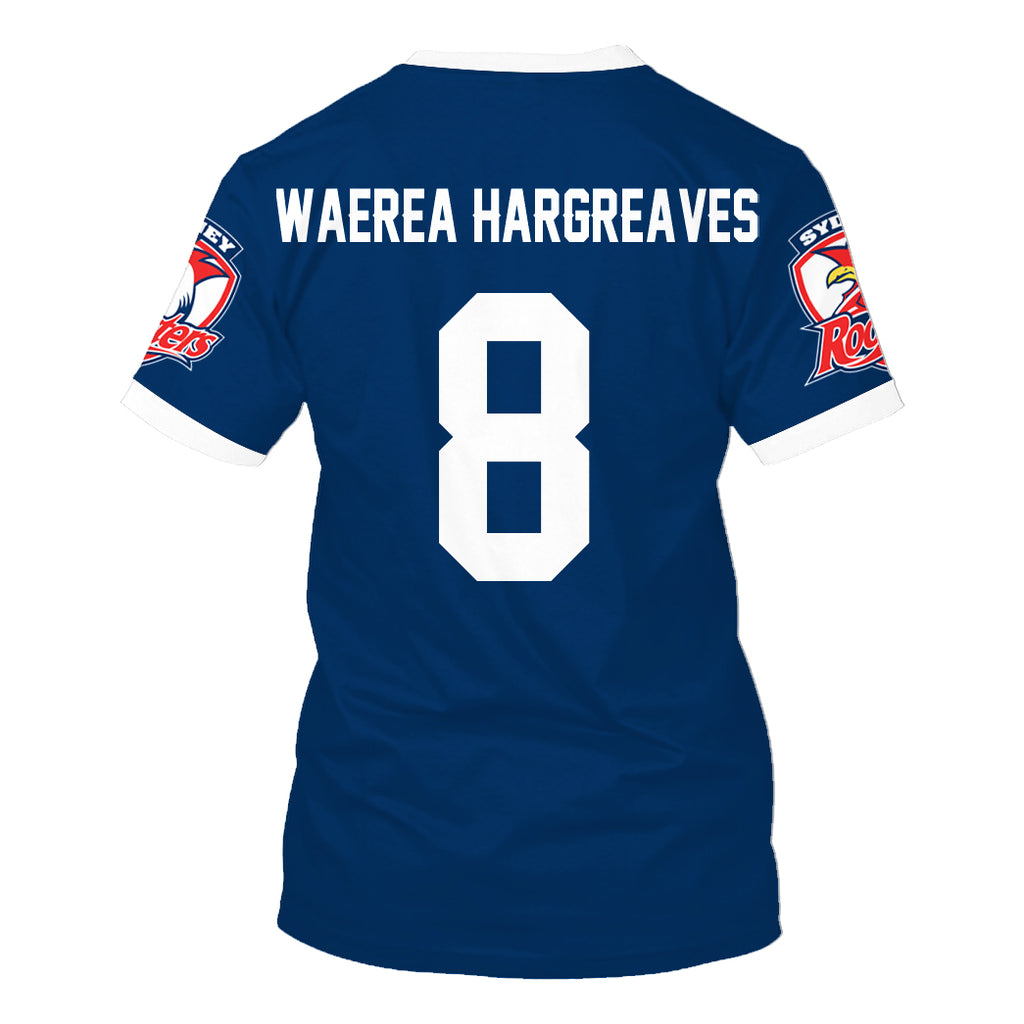 Jared Warea Hargreaves-NRLSR003 - HOT SALE 3D PRINTED - NOT IN STORE