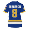 Image of Bergeron (#8) Blue jersey