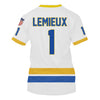 Image of Lemieux (#1) White Jersey