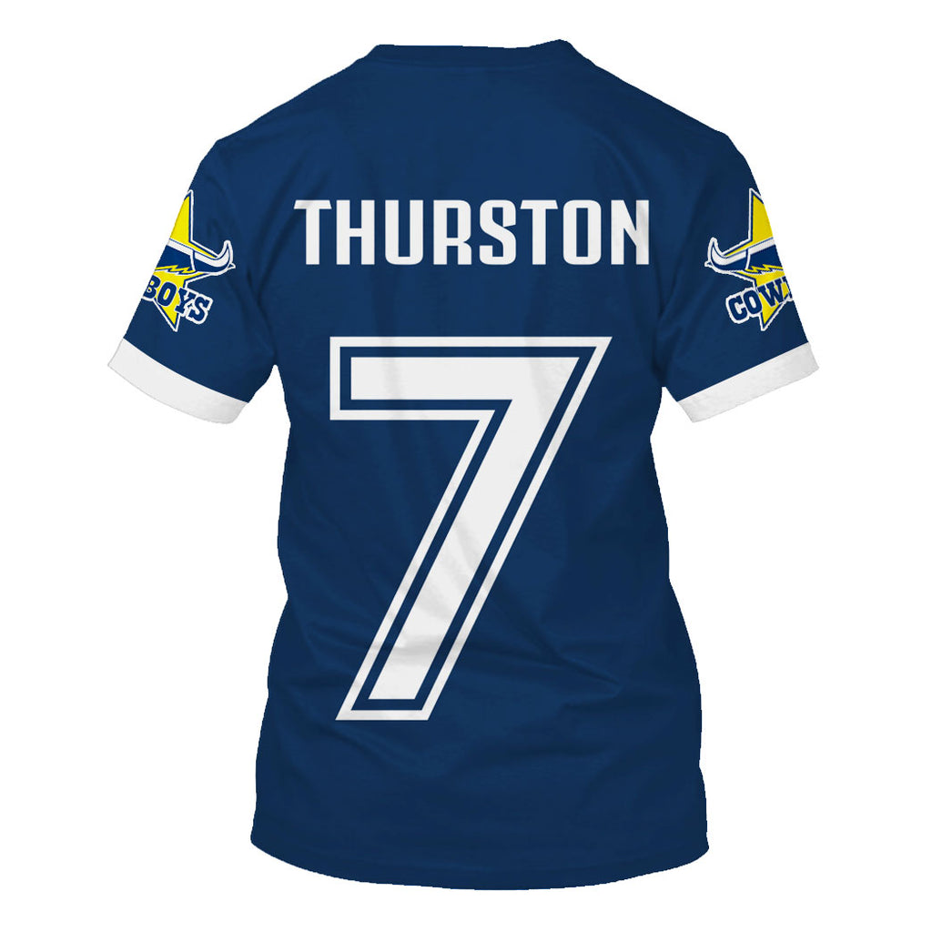 Johnathan Thurston ver2-Cowboy002 - HOT SALE 3D PRINTED - NOT IN STORE