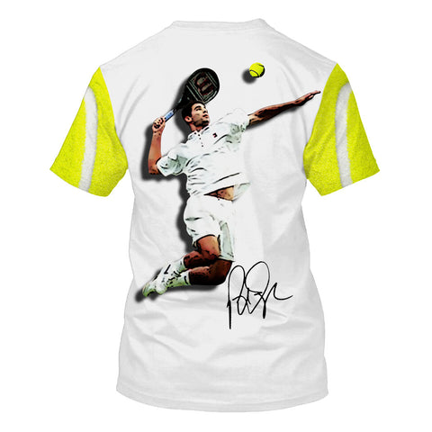 Pete Sampras-TennisPs001 - HOT SALE 3D PRINTED - NOT IN STORE