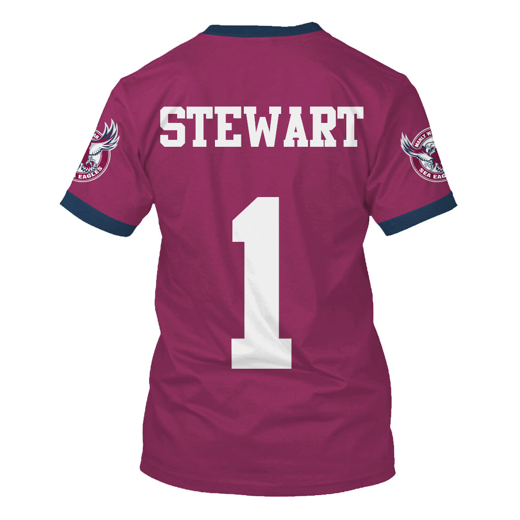 Brett Stewart-NRLManly002 - HOT SALE 3D PRINTED - NOT IN STORE