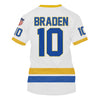 Image of Braden (#10) White Jersey