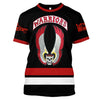 Image of The Warriors Black ver.1 - Customize your name & number