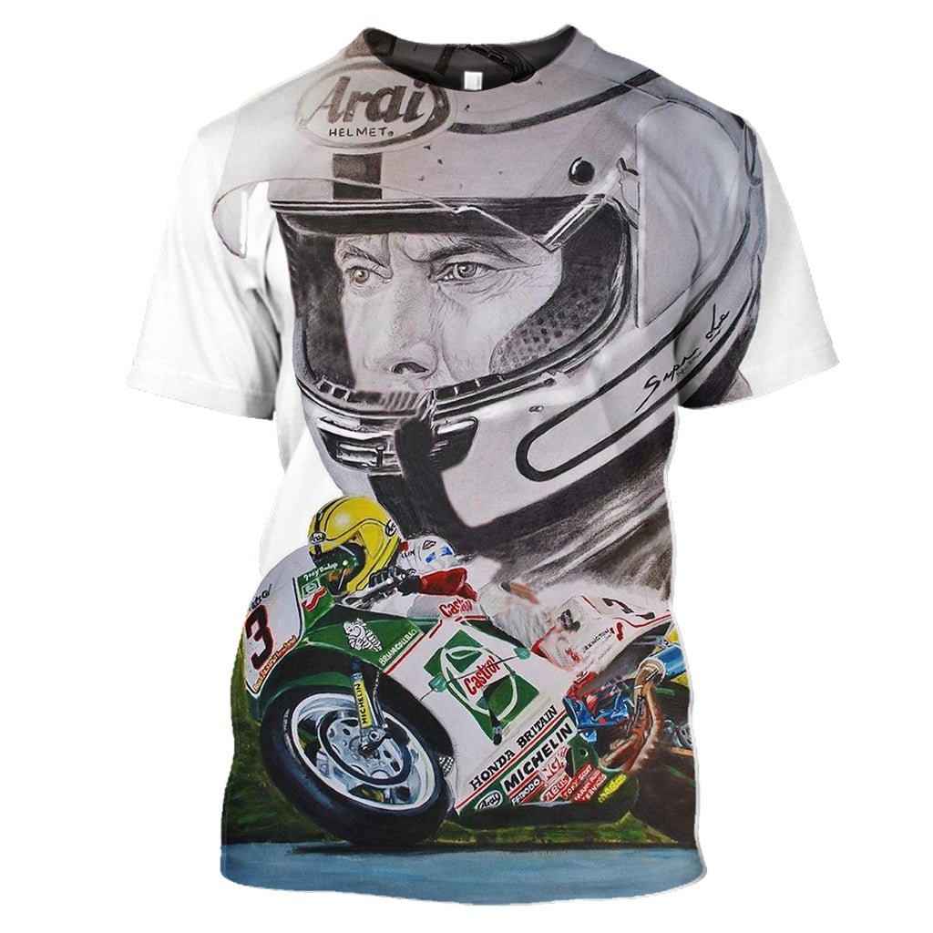 ZAC-Joey007 - Joey Dunlop HOT SALE 3D PRINTED - NOT IN STORE