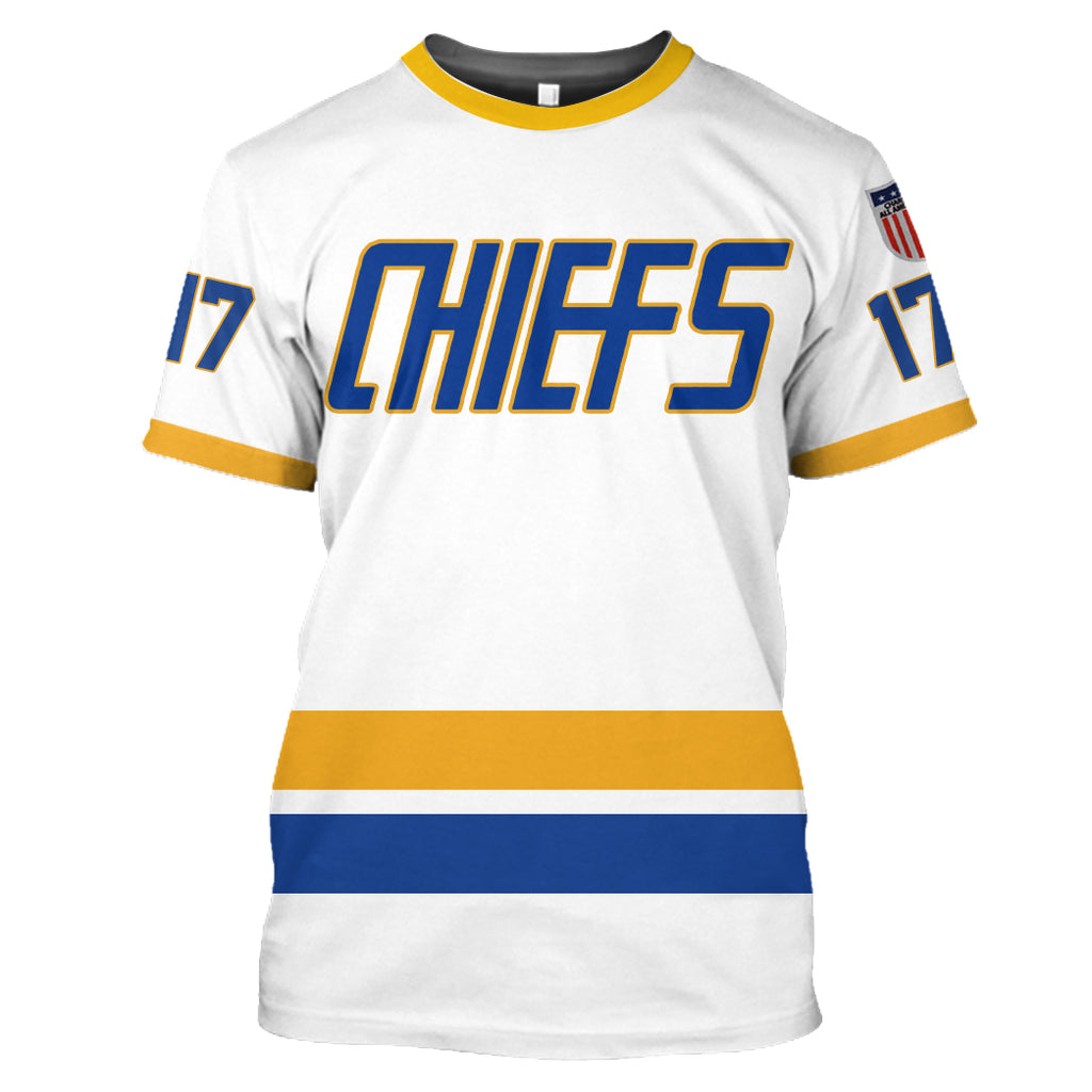 Hanson Brothers #17 White