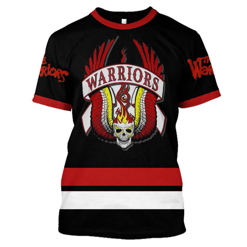 The Warriors Black ver.2 - Customize your name & number