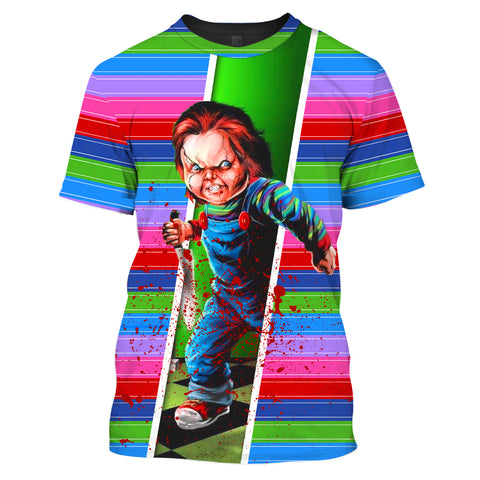 ZAC-Chucky002 - HOT SALE 3D PRINTED - NOT IN STORE