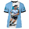 Image of Chad Townsend-NRLShark004 - HOT SALE 3D PRINTED - NOT IN STORE