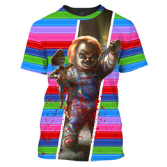 ZAC-Chucky001 - HOT SALE 3D PRINTED - NOT IN STORE