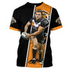 Image of Robbie Farah v2-NRLTiger003 - HOT SALE 3D PRINTED - NOT IN STORE