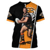 Image of Robbie Farah v3-NRLTiger004 - HOT SALE 3D PRINTED - NOT IN STORE
