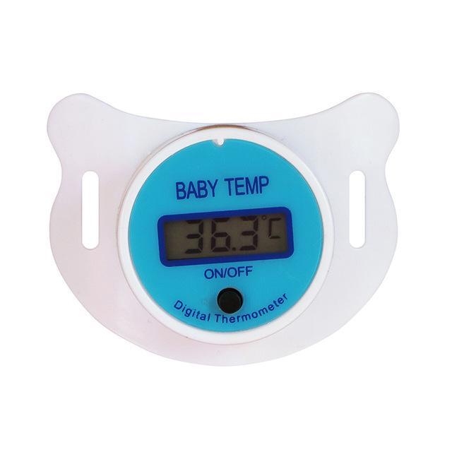 Digital Thermometer Pacifier with LCD Light