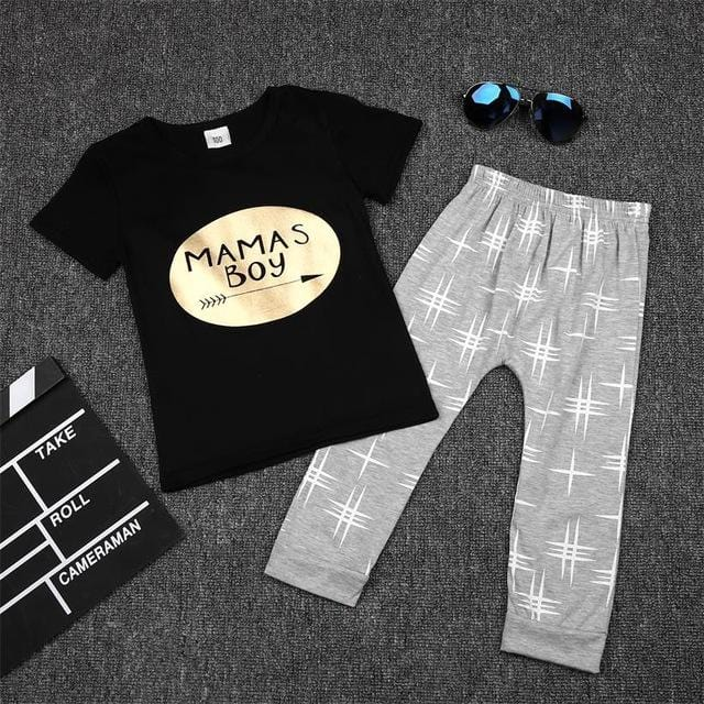 2pc | Mama's Boy Outfit Set