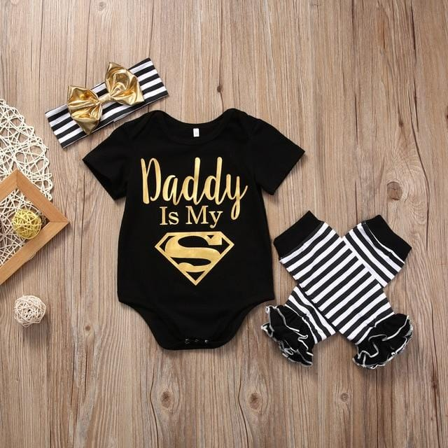 3 pc | Daddy is My Superman Set