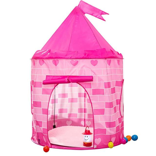 Prince & Princess Play Tent