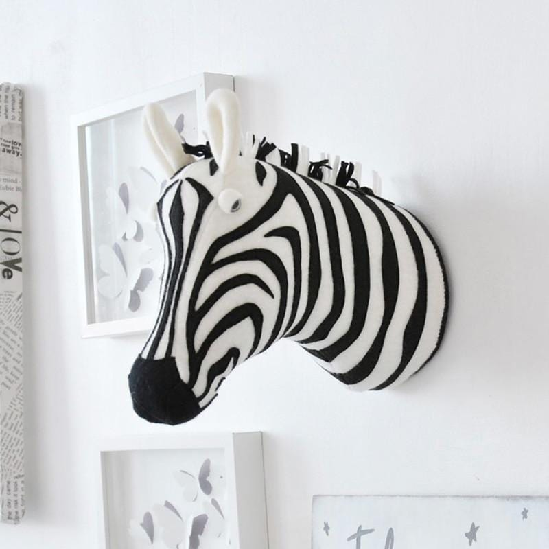 3D Animal Head Wall Mount