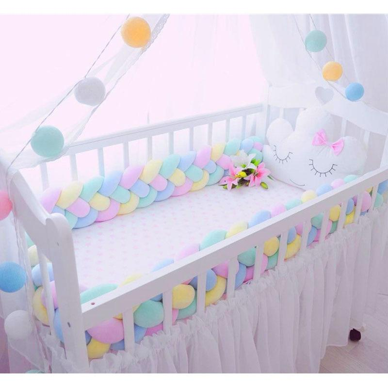 4 Braid Soft Crib Bumper