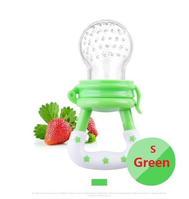 Fresh Food Silicone Feeder Pacifier w/Handgrip