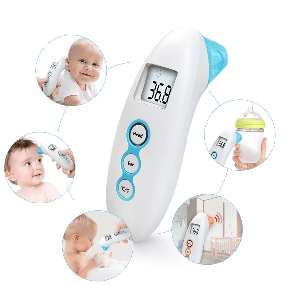 Non-Contact Electronic Digital Thermometer Infrared w/LCD Back Light