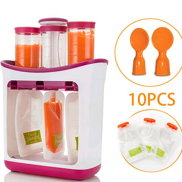 Organic Baby Food Maker w/Storage Containers