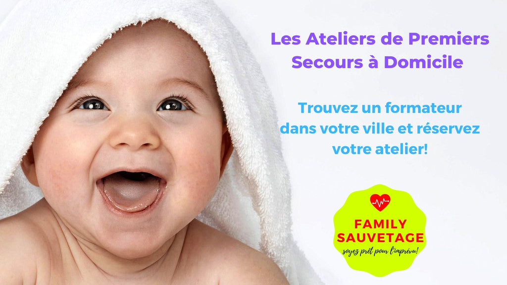 gestes urgence bebe prevention danger nourrison