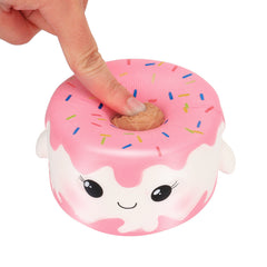 Kawaii Jumbo Cartoon Cake Squishy Slow Rising Cream Scented Stress Reliever Toys