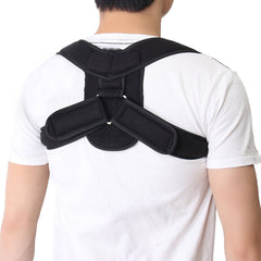 Ajustable Orthosis Corset Back Brace Posture Correction Shoulder Brace Posture Upper Back Support Corrector for Men Women Child
