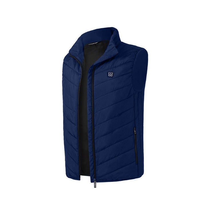 Electric Heated Vest, Waistcoat, Thermal Warm Clothing Feather Winter Jacket for Men & Women