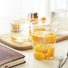 "Verres ""Good morning"""