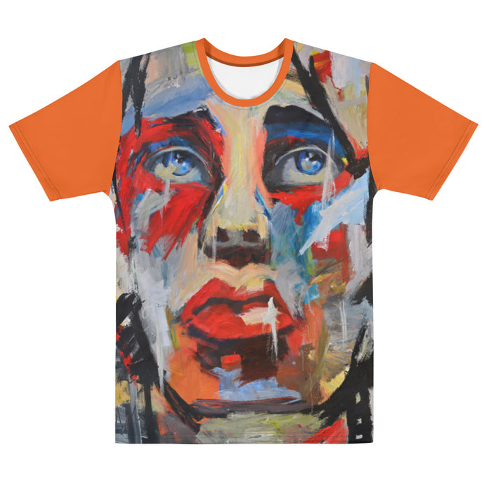 I Wonder Men's T-shirt Collage Style Print