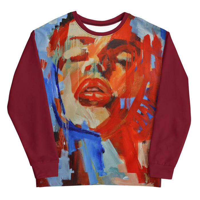Colors of Passion Men's Sweatshirt Collage Style Print