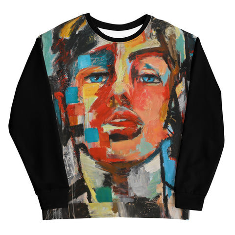 By the Ocean Men's Sweatshirt Collage Style Print